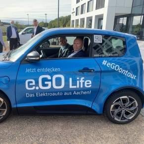 één proefrit in de E.Go Mobile