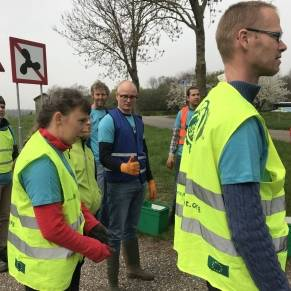 Interreg | Regional Minister Hubert Mackus joins cleanup