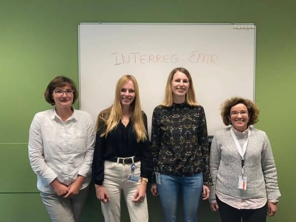 Nouvelles cheffes de projets au sein de l'équipe Interreg EMR