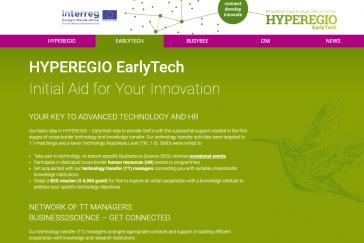 EarlyTech website