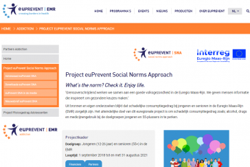 euPrevent Social Norms Approach site web