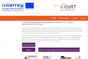 i2-CORT Webseite
