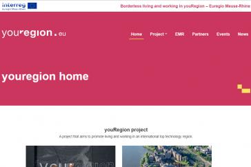 youRegion website