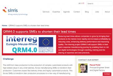QRM 4.0 - Plus d'infos