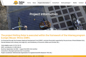 ROLLING SOLAR - site web